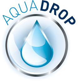 Skin Care Aqua Drop Logo