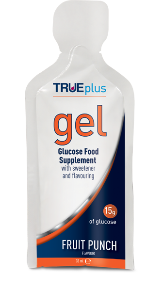 True Plus Gel Glucose Food Supplement Fruit Punch 32 ml