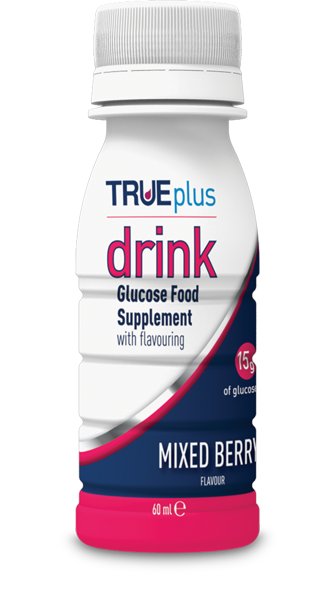 True Plus Drink Glucose Food Supplement Mixed Berry 60 ml