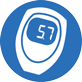 blood glucose meter mmol category icon